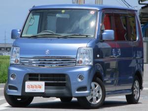 スズキ エブリイワゴン PZターボ 4WD 電動ドア 社外SDナビ