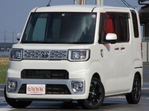 トヨタ ピクシスメガ G ターボ 両側電動ドア 純正SDナビ
