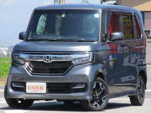 ホンダ N-BOXカスタム G EXターボホンダセンシング 4WD 両側電動ドア 純正SDナビ