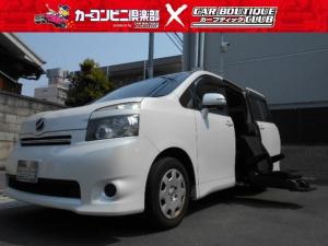 トヨタ ヴォクシー X Lエディションサイドリフトアップ・ETC