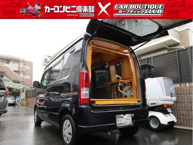 オートワン社製 ピッコロキャンパープラス 4WD シンク シャワーヘッド サブバッテリー 収納外部電源 楽ナビ ETC