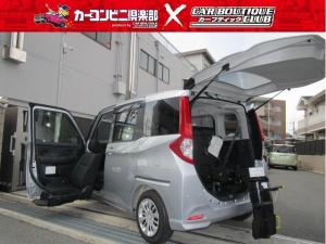 トヨタ ルーミー G ウエルキャブ車 助手席リフトアップシート Bタイプ 車いす収納装置 電動スライド式 35kgタイプ