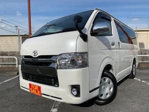 トヨタ レジアスエースバン スーパーGL ダークプライムII LEDヘッドライト 黒内装 Bluetooth対応フルセグナビ バックカメラ ドラレコ