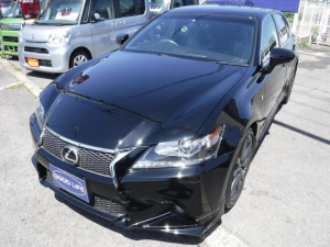 レクサス GS GS350Fスポーツ黒革エアーシートHUD禁煙車ドラレコ