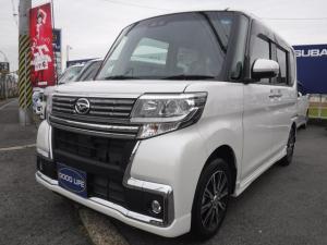 ダイハツ タント カスタムX トップエディションSAIII純正ナビ後席モニタ