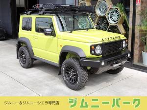 スズキ ジムニーシエラ JC ブラックツートンルーフ 16アルミ リトルD仕様 タイヤ&ホイールはお好みで変更可能です 全国納車いたします