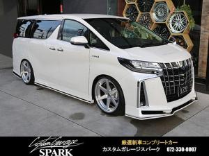 トヨタ アルファードハイブリッド SR Cパッケージ 車高調 クールコンプリート 21アルミ
