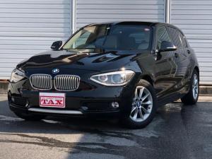 BMW 1シリーズ 116i スタイル 白革シート 純正HDDナビ バックソナー