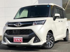 トヨタ タンク カスタムG S 社外8インチナビ フリップダウンモニター