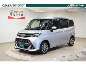 トヨタ タンク カスタムG-T W電動ドア DVD 衝突安全ブレーキ ABS