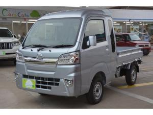 ダイハツ ハイゼットトラック ジャンボ 4WD 5MT - 新車 - ブルーレイ搭載ナビ&フルセグTV&ETC車載器&フロアマット付き