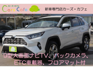 トヨタ RAV4 G 9インチ大画面フルセグナビバックカメラETCマット付