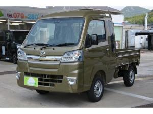 ダイハツ ハイゼットトラック ジャンボSAIIIt 4WD 5MT - 新車 - ブルーレイ搭載ナビ&フルセグTV&ETC車載器&フロアマット付き