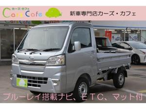 ダイハツ ハイゼットトラック エクストラSAIIIt 4WD 4AT - 新車 - ブルーレイ搭載ナビ&フルセグTV&ETC車載器&フロアマット付き