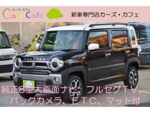 スズキ ハスラー Jスタイル - 新車 - 純正8型大画面ナビ&フルセグTV&バックカメラ&ETC車載器&フロアマット付き