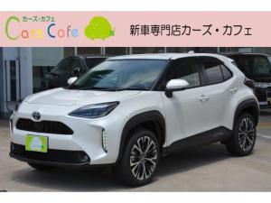 トヨタ ヤリスクロス Z - 新車 - 純正8型ディスプレイオーディオ&パノラミックビューモニター&フロアマット付