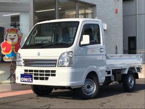 スズキ キャリイトラック KCスペシャル 4WD 5MT 届出済み未使用車 フル装備 オートライト レーダーブレーキサポート 横滑り防止機能
