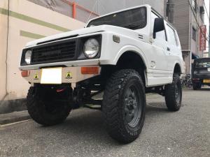 スズキ ジムニー HC 4WD 5速MT ETC アルミ 公認 ホワイト