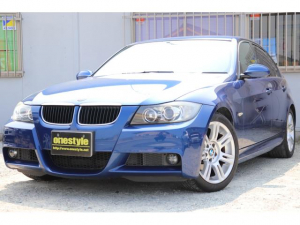BMW 3シリーズ 320i Mスポーツパッケージ キーレス・楽ナビ・HDDナビ・Bカメラ・ETC・HID・純正17AW・AUTOライト・フォグ・レーダー・MT付AT・E/Gプッシュ・電格ミラー