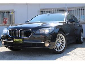 BMW 7シリーズ 740Li ブラックレザー サンルーフ HDDナビ ワンセグ バックカメラ Pセンサー