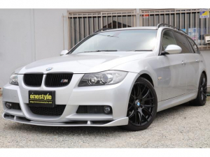 BMW 3シリーズ 320iツーリング Mスポーツパッケージ キーレス オートライト HID フォグ 社外18AW ダウンサス Fスポイラー