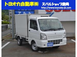 スズキ キャリイトラック 冷凍車1WAY 冷凍車1WAY・4WD5MT・エアコン・パワステ・パワウインドー