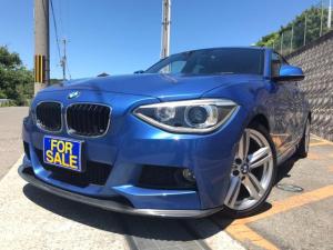 BMW 1シリーズ 120i Mスポーツ 禁煙車 修復歴なし ETC HDDナビ