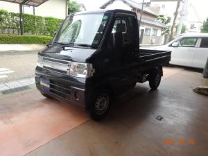 三菱 ミニキャブトラック 黒トラ