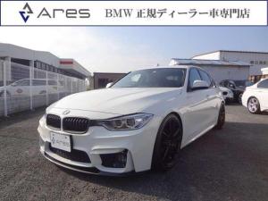 BMW 3シリーズ 320i スポーツ 純正ナビ Bカメラ コンフォートアクセス フルエアロ 19インチアルミ 4本出しマフラー