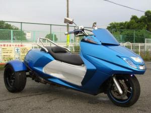日本その他 日本  ヤマハ マグザムトライク フルカスタム 社外マフラー 側車二輪公認 ノーヘル二人乗り可能 普通車免許 国産ヤマハ 4スト インジェクション 社外アルミステップボード HID Vアップタンデム
