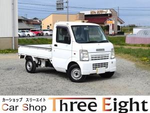 スズキ キャリイトラック KC エアコン 5速MT ユーザー買取車