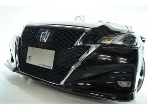トヨタ クラウンハイブリッド アスリートSADパッケージ新品バカンスエアロ新品アルミ車高調