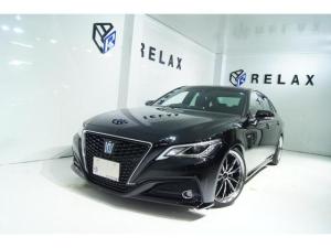 トヨタ クラウンハイブリッド S 新品19ホイール 新品タイヤ 新品ブリッツ車高調 セーフティーセンス