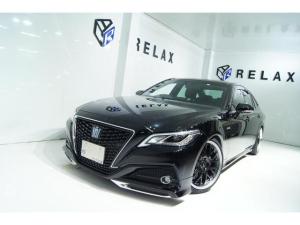 トヨタ クラウンハイブリッド  新品モデリスタ 新品19ホイール 新品タイヤ 新品BLIZ車高調 シートヒーター ハンドルヒーター