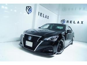 トヨタ クラウンハイブリッド アスリートS 新品バカンスフロントスポイラー 新品19ホイール 新品タイヤ 新品車高調 純正マルチ ETC