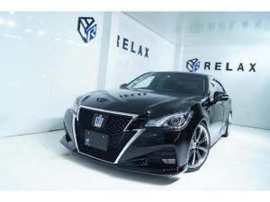 トヨタ クラウンハイブリッド アスリートS 新品バカンスフロントスポイラー 新品19ホイール 新品タイヤ 新品フルタップ車高調 Bluetooth対応マルチナビ ETC ワンオーナー