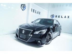 トヨタ クラウン アスリートS 新品バカンスエアロ2色塗分 新品19ホイール 新品タイヤ 新品車高調 Bluetooth対応マルチナビ ETC