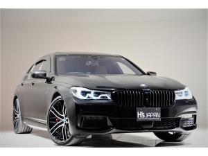 BMW 7シリーズ 750i Mスポーツ OP合計約340万 1オナ Bowers&Wilkinsダイヤモンドサラウンド BMWレーザーライト リアエンターテイメント Mperformanceブレーキ Mperformanceカーボンミラー