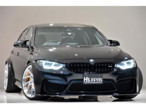 BMW M3 M3 OP合計約255万 KWver.3車高調 Mperformanceテールレンズ OSSデザインLEDヘッドライト JBLトレードインスピーカー WORK20インチAW ブレーキキャリパーペイント