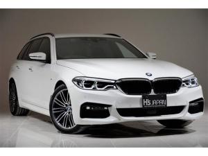 BMW 5シリーズ 523dツーリング Mスポーツ OP合計約50万 イノベーションPKG TVキャンセラー ディスプレイキー リモートパーキング ワイヤレスチャージング 全席シートヒーター ハイラインPKG ヘッドアップディスプレイ ランバーサポート