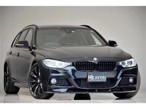 BMW 3シリーズ 320dツーリング Mスポーツ OP合計約90万 Mperformance20インチAW Mperformanceフロントスポイラー 3Ddesignアルミペダル オートテールゲート ワンオーナー カーボンセレクター
