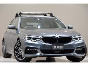 BMW 5シリーズ 530iツーリング Mスポーツ 1オーナー セレクトPKG イノベーションPKG ハイラインPKG アドバンスPKG ルーフキャリア ディスプレイキー 置くだけ充電 Mスポーツブレーキ ヘッドアップディスプレイ