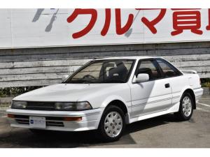 トヨタ カローラレビン GT APEX フルオリジナル 5速マニュアル 純正14インチAW リアスポイラー 純正オーディオ レザーステアリング