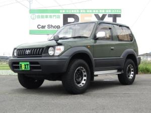 トヨタ ランドクルーザープラド RX 4WD 全塗装 社外16AW 地デジフルセグ