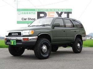 トヨタ ハイラックスサーフ SSR-Xワイド 4WD 4RUNNERスタイル リフトUP