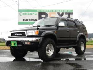 トヨタ ハイラックスサーフ SSR-V ブラックナビゲーター 4WD リフトアップ ヒッチメンバー 社外AW ナビ 地デジ DVD再生