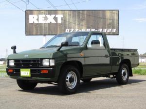 日産 ダットサントラック DX NOX適合 1オーナ 全塗装 ナルディステア ネイティブシートカバー 5MT 荷台チッピング