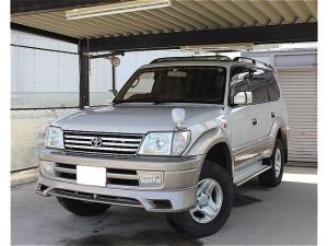 トヨタ ランドクルーザープラド TZ サンルーフ 社外足回り 社外フルセグナビ 4WD