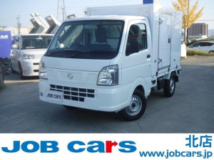 日産 NT100クリッパートラック  冷蔵冷凍車 中温 -5℃設定 5MT 左引戸 届出済未使用車