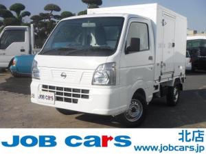 日産 NT100クリッパートラック  冷蔵冷凍車 中温 東プレ製 -5℃設定 3AT 左引戸